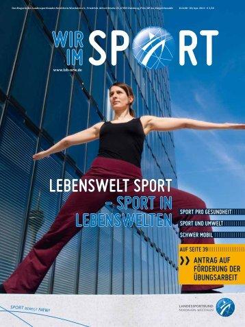 lebenSwelt Sport - Sport in lebenSwelten - SV Gescher 08