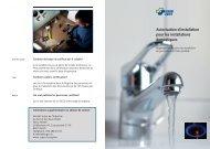 la certification des personnes - SVGW