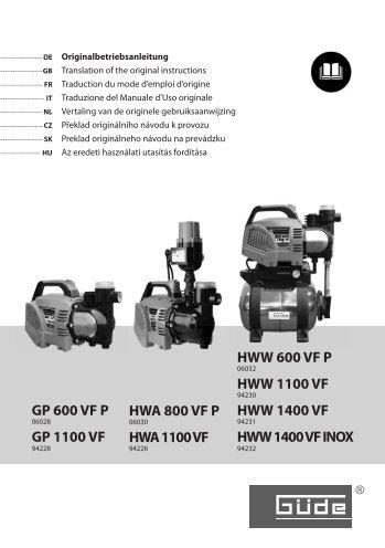 HWW 600 VF P - Steiner Shopping GmbH
