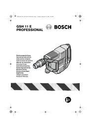 GSH 11 E PROFESSIONAL - Svh24