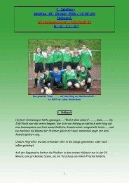 7. Spieltag - beim SV Hatzenport Löf