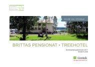 brittas pensionat • treehotel - SVID, Stiftelsen Svensk Industridesign