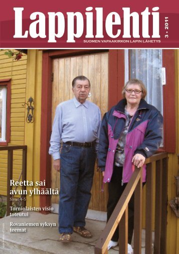Lappilehti 3/2011 - Suomen Vapaakirkko