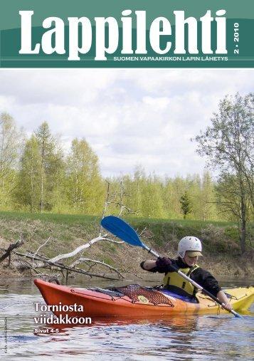 Lappilehti 2 2010 - Suomen Vapaakirkko