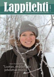 Lappilehti 1/2011 - Suomen Vapaakirkko