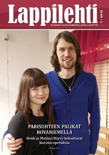 Lappilehti 1/2012 - Suomen Vapaakirkko