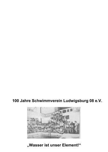 Einladung Jubiläumsball - Schwimmverein Ludwigsburg 08 eV