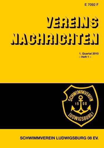 Vereinsnachrichten - 1. Quartal 2010 - Schwimmverein Ludwigsburg ...