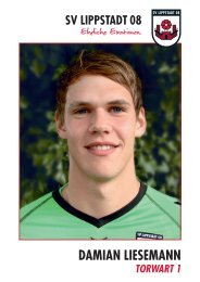 Autogrammkarten blanko, Download als PDF - SV Lippstadt 08