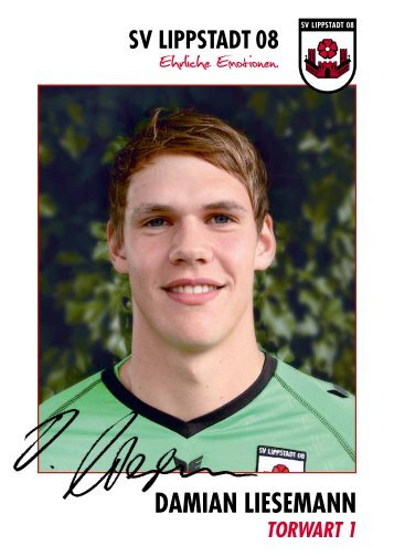DAMIAN LIESEMANN - SV Lippstadt 08