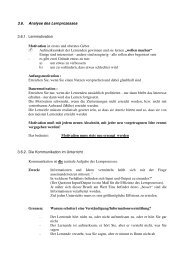 3.6. Analyse des Lernprozesses 3.6.1. Lernmotivation Motivation ist ...