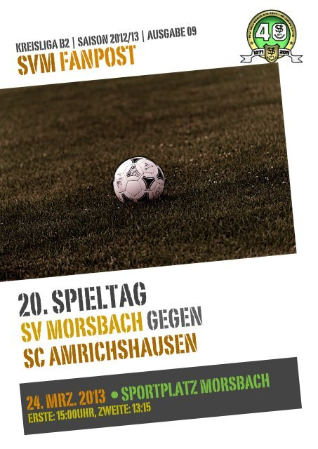 Fanpost 2013/09 SVM - SC Amrichshausen