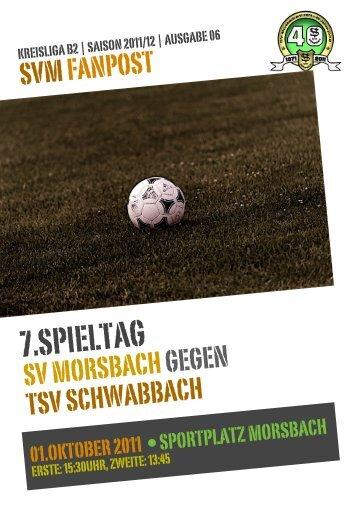 Fanpost 2012/06 SVM - TSV Schwabbach