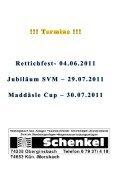 Fanpost 2011/10 SVM - SGM Niedernhall/Weißbach - Page 5