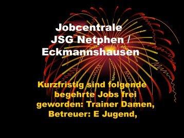 Jobcentrale JSG Netphen / Eckmannshausen - SV Netphen
