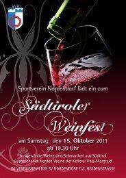Vereinsmitteilung Nr. 03/2011 vom 06.10.2011 - Sportverein ...