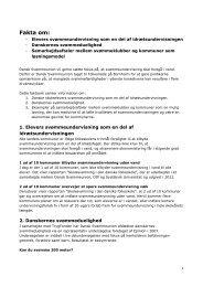 Faktaark om svømning - Dansk Svømmeunion