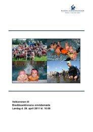 beretning og dagsorden - Dansk Svømmeunion