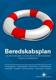 Beredskabsfolder - Dansk Svømmeunion