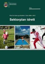 Sektorplan idrett hoveddel - Frogner Svømmeklubb
