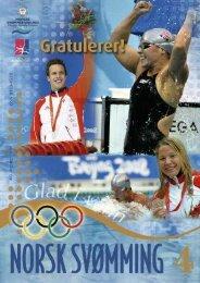 Norsk Svømming nr 4 - Norges Svømmeforbund