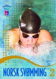 Norsk Svømming nr 2 - 2004 - Norges Svømmeforbund