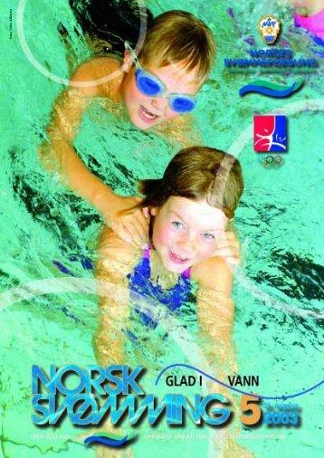 Norsk Svømming nr 5 - Norges Svømmeforbund
