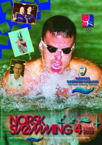 Norsk Svømming nr 4 - 2003 - Norges Svømmeforbund