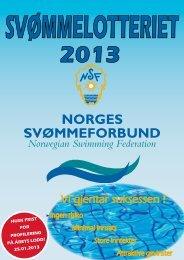 brosjyre - Norges Svømmeforbund