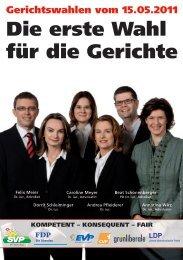 Die erste Wahl für die Gerichte - SVP Basel-Stadt