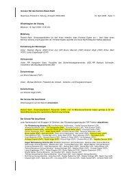 Grosser Rat des Kantons Basel-Stadt Beschluss ... - SVP Basel-Stadt