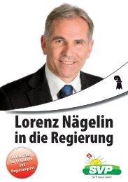 Lorenz Nägelin - SVP Basel-Stadt
