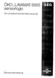 OKO ~senso~rlogic - Alle-Bedienungsanleitungen.de