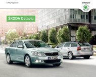 Åkoda Octavia Katalog (PDF) - DHT Automobile
