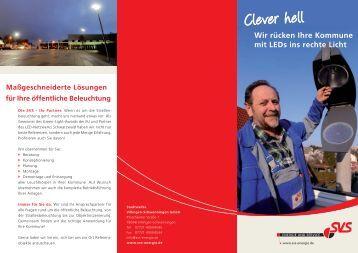Flyer Clever hell - LED-Technik - Stadtwerke Villingen ...