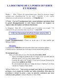 LA DOCTRINE DE LA PORTE OUVERTE ET FERMEE - Page 3