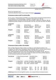 Brief SVSE - intern - SVSE Schweiz. Sportverband öffentlicher Verkehr