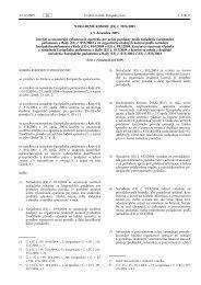 NARIADENIE KOMISIE (ES) č. 2074/2005 z 5. decembra ... - EUR-Lex