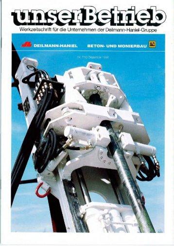 MASCHINEN- UND STAHLBAU - Deilmann-Haniel Shaft Sinking