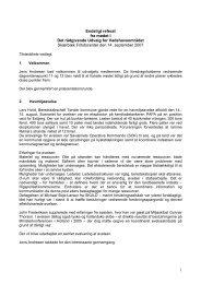 1 Endeligt referat fra mødet i Det rådgivende Udvalg for ... - SVUF