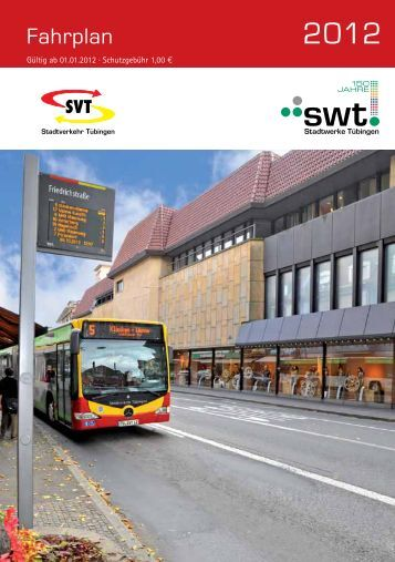 Fahrplan - Stadtverkehr Tübingen