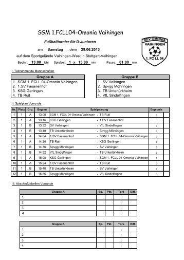 SGM 1.FCLL04-Omonia Vaihingen - SVV - Fussball