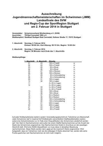 JMM - Schwimmverband Württemberg e.V.