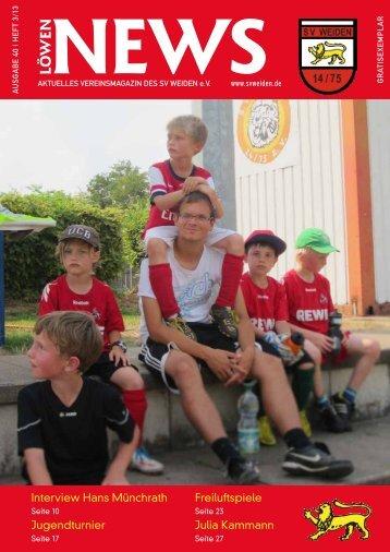 Interview Hans Münchrath Jugendturnier Freiluftspiele Julia Kammann