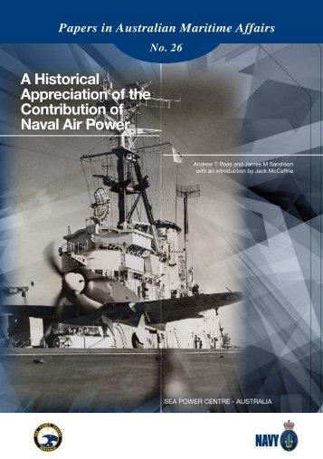 PIAMA 26 A Historical Appreciation of Naval Air Power - Royal ...