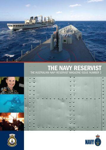 THE NAVY RESERVIST - Royal Australian Navy