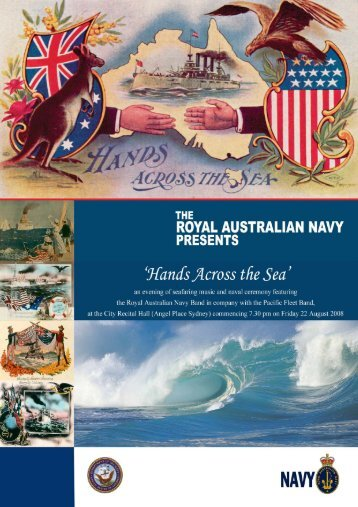 Royal Australian Navy Band Hands Across The Sea Music Program