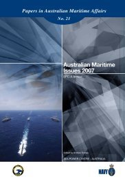 Australian Maritime Issues 2007 - Royal Australian Navy