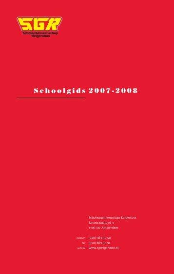 SGR Schoolgids 2007-2008 - Onderwijs Consumenten Organisatie