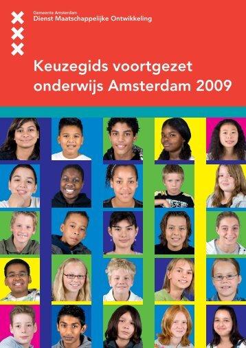 Amsterdamse Keuzegids Voortgezet Onderwijs 2009 - OCO